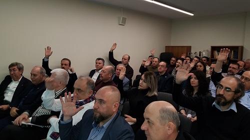 10. Olağan Genel Kurul Toplantımız 23 Şubat Cumartesi Günü Merkezimizde Gerçekleşti. 4
