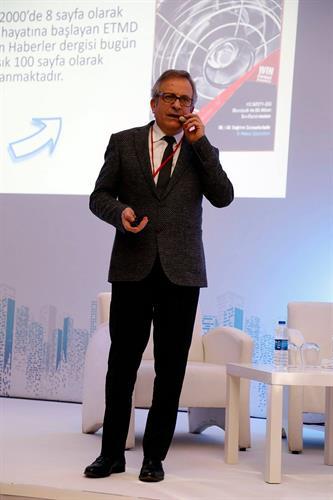 ETMD Yönetim Kurulu Başkanımız Sayın Mustafa Cemaloğlu İnşaat ve Konut Konferasında 1