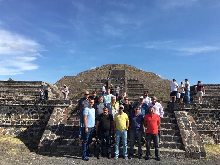 Günsan'ın Başarılı Iş Ortakları Meksika'da Bir Araya Geldi 2