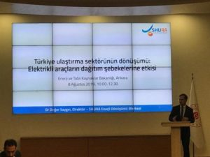 """Enerji Bakanlığı """"Elektrikli Taşıt Araçlarının, Elektrik Dağıtım Sistemine Etkisinin İncelenmesi"""" Paydaş Görüş Toplantısı 1"""