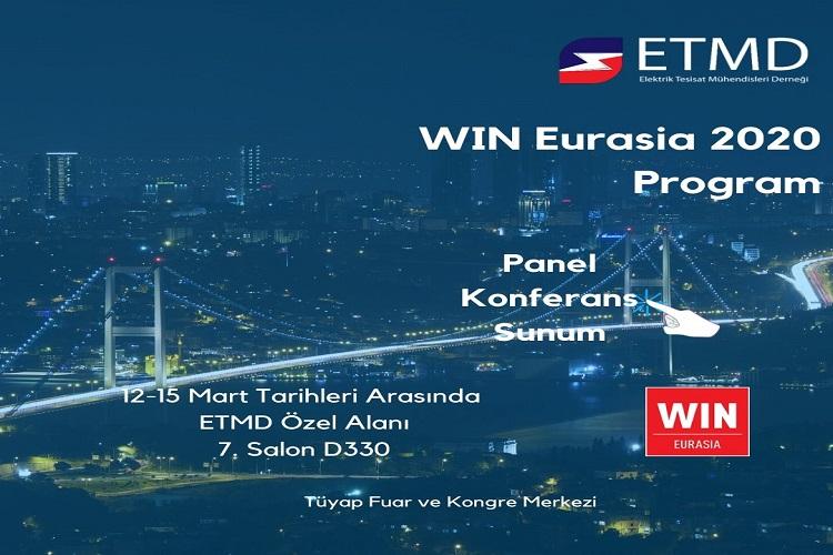 ETMD Win Eurasia 2020 Programı