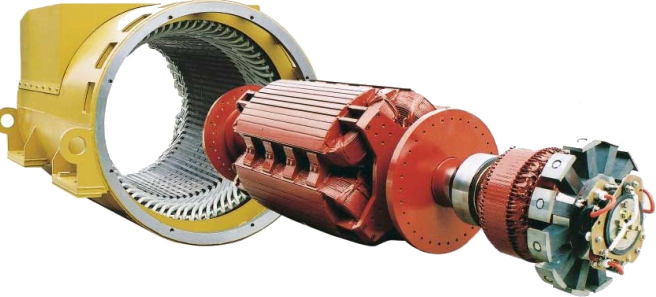 Senkron Elektrik Makineleri | Senkron Motor - Jeneratör / Alternatör 9