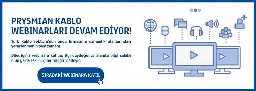 Prysmian Kablo Webinarları devam ediyor 1