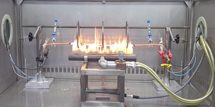 Yangına Dayanıklı Kablo Gruplarına Uygulanan Yangın Performans Testleri 2. Bölüm 8