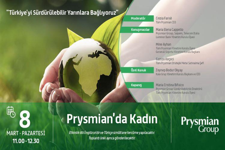 """Türk Prysmian Kablo Tarafından Düzenlenen """"Prysmian'da Kadın"""" Konulu Panel 8 Mart Dünya Kadınlar Günü'nde Gerçekleşecek."""