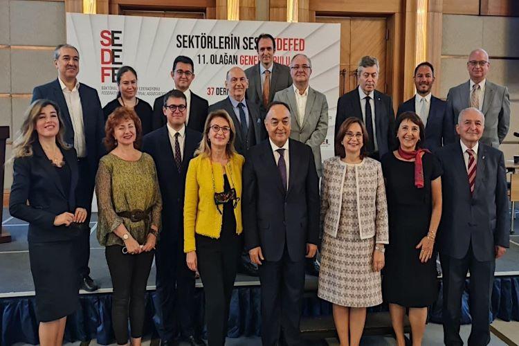 SEDEFED 11. Olağan Genel Kurul Toplantısı Gerçekleştirildi. SEDEFED Yönetim Kurulu Başkanı Emine Erdem Oldu! 3