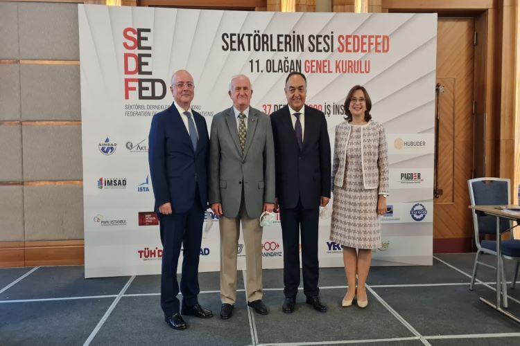 SEDEFED 11. Olağan Genel Kurul Toplantısı Gerçekleştirildi. SEDEFED Yönetim Kurulu Başkanı Emine Erdem Oldu! 1